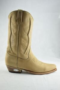 Biker Tan 206 Loblan Cowboy Leather Western Boots 2616 Classic Hand Made Waxy HnPPZ7wz