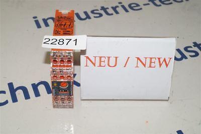 V23049-b1007-a322 3-1393256-7 SCHRACK safety relay relais de sécurité COIL 24 V