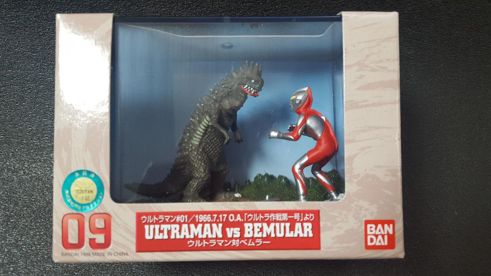 BANDAI Ultraman VS Bemular  Diorama Special Screen Gallery 09 Figure JAPAN