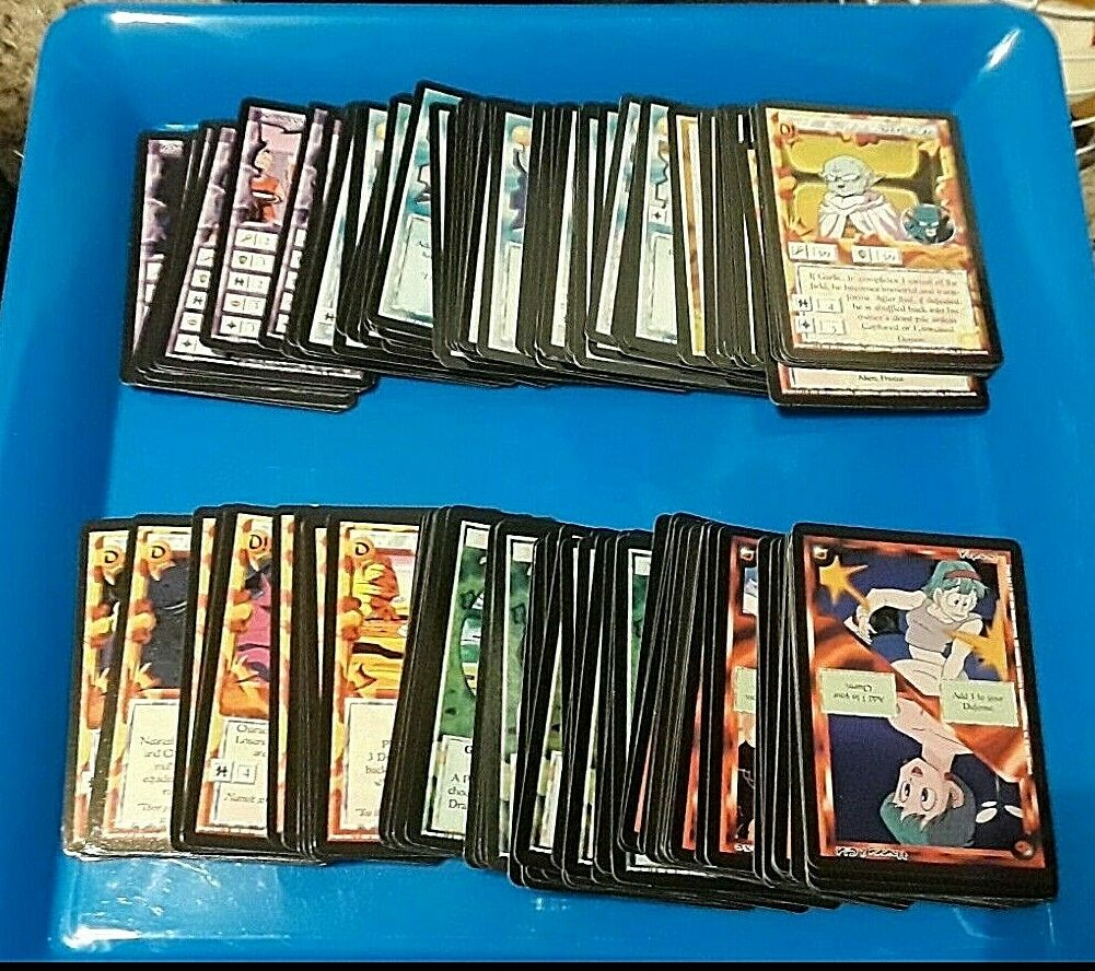 Ani-Mayhem CCG DBZ Common  Uncommon set of 168 cards- Hard to find OOP 1997