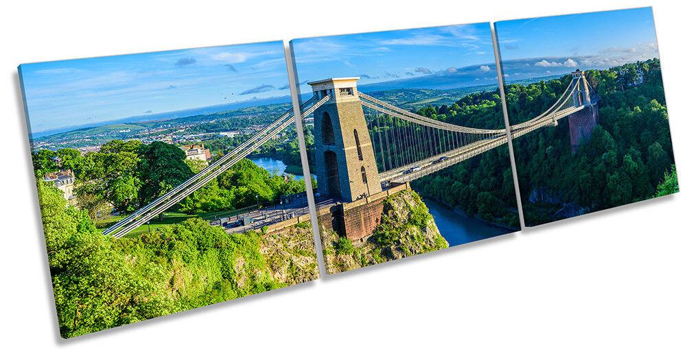 Bristol ponte sospeso art. A Muro Immagine Stampa Stampa Stampa Triplo be4093