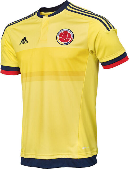 adidas Men's Colombia Home Soccer Jersey 2015/2016 Size XS for ...
