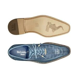 Belvedere Exotic Dress Shoes Lace Up