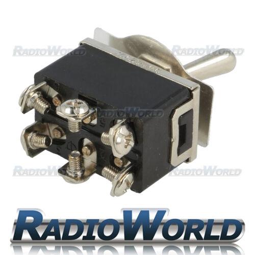Agua//de misil SPST SP3T Interruptor DPDT DP3T SPDT Palanca De Arranque Interruptor de encendido//apagado de tablero de automóvil