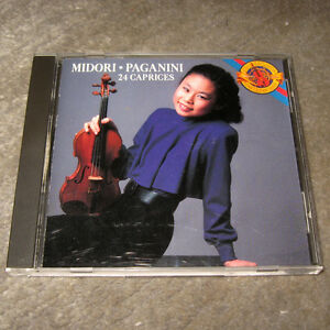 CD-Niccolo-Paganini-Midori-24-Caprices-fuer-Solo-Violine-op-1