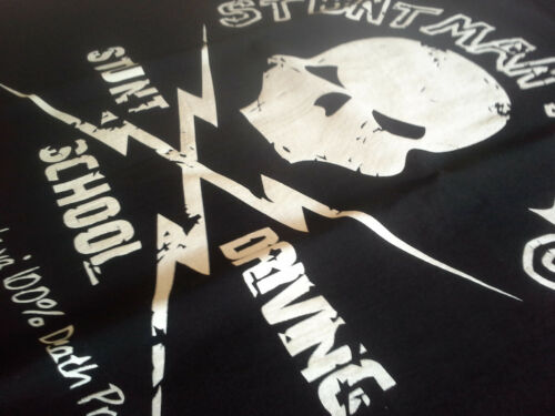 Stuntman Mike/'s Driving School T-Shirt Tarantino-Death Proof Grindhouse
