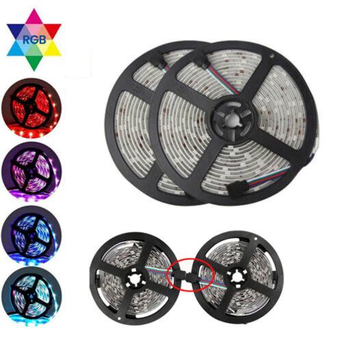 5m 10m 20m RGB LED Stripe Streifen wasserdicht Band Leiste 5050 Licht für Aussen