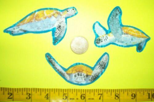 tortugas marinas Apliques de tela ~ Hierro Ons nuevo