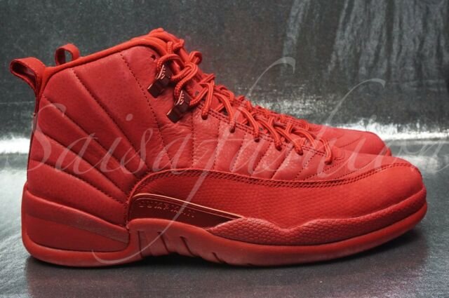 the latest 5b24f 3ae22 Air Jordan 12 XII Retro Mens 130690-601 Gym Red Basketball Shoes Size 12