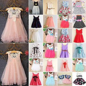 Toddler-Girls-Kids-Baby-Summer-Princess-Party-Wedding-Pageant-Casual-Tutu-Dress