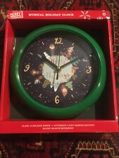 Musical Christmas Clock Quartz Movement Plays 12 Different Songs Every Hour For Sale Online Ebay