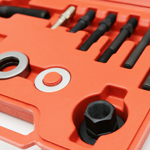 12x Pulley Puller Installer Power Steering Pump Remover Alternator Steel Tool
