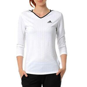Adidas Damen Tennis Shirt 34 Arm UV 25+ Sport Longsleeve