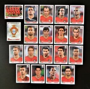 Panini-WM-2010-Portugal-Mannschaft-Team-Complete-Set-World-Cup-WC-10