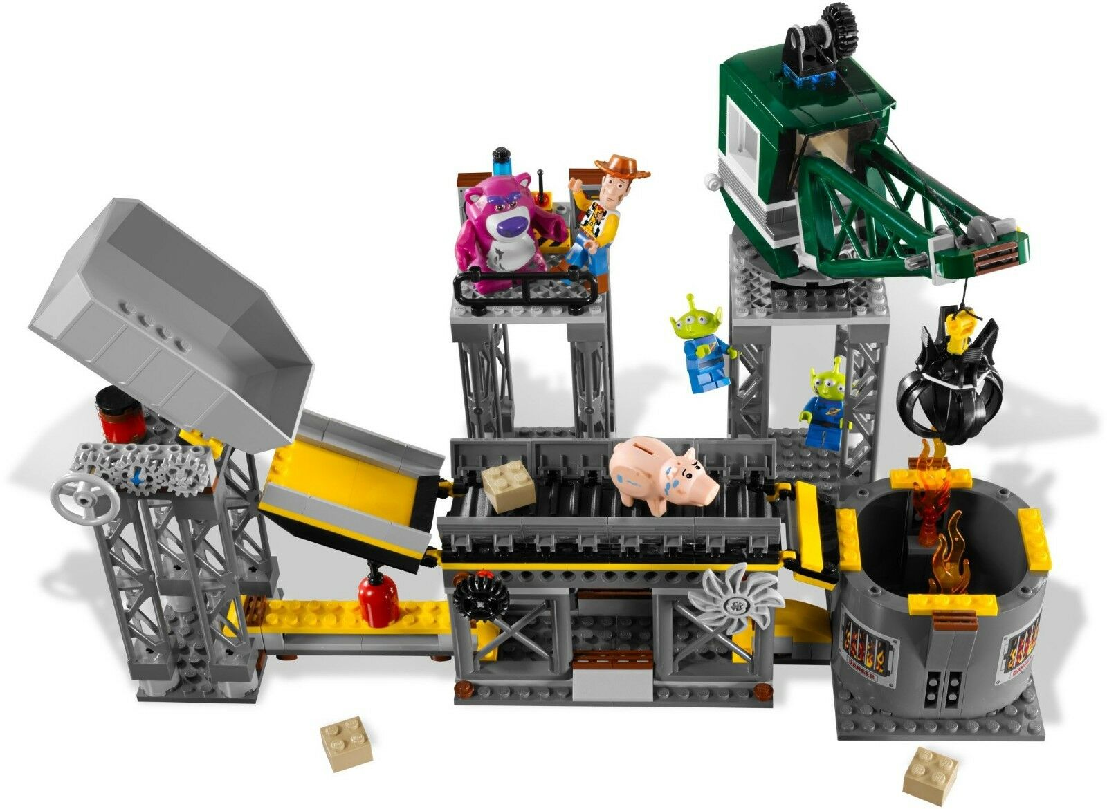 LEGO Toy Toy Toy Story Trash Compactor Escape 7596 New minifig dirt Woody Alien this set d0ce29