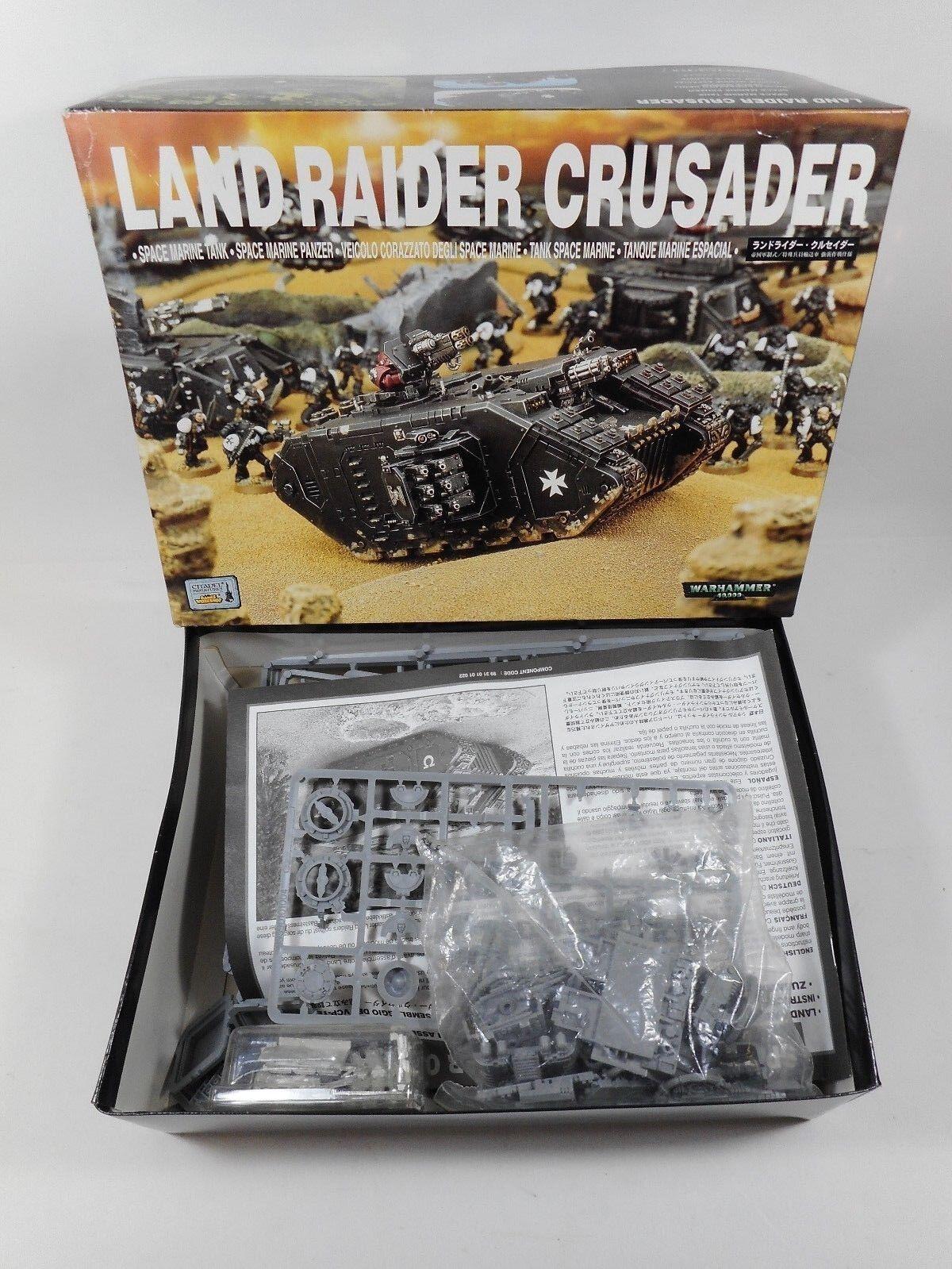 Warhammer 40K Space Marine terrenos sin edificar Raider Cruzado Tanque Panzer