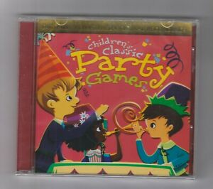 Children-039-s-Classic-Party-Games-CD-Children-039-s-Music-Singalongs-Educational