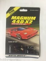 Tyco Magnum 440-x2 Slot Car Tune Up Kit Shoes, Tires, Axle Tyc36669
