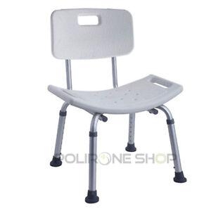Rodi sgabello sedia per doccia bagno anziani disabili - Sedia da bagno per disabili ...