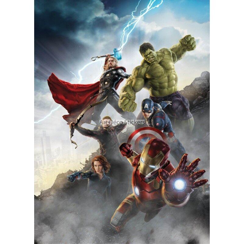 Aufkleber Riesig Riesig Riesig Deko Avengers 15168 15168 03ae27