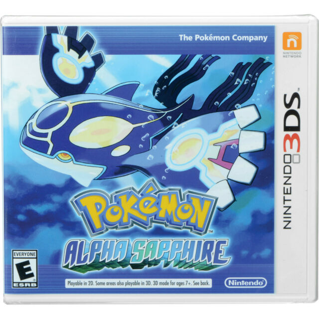 Pokemon Alpha Saphire 3Ds Game  Brand New Sealed Free Shipping
