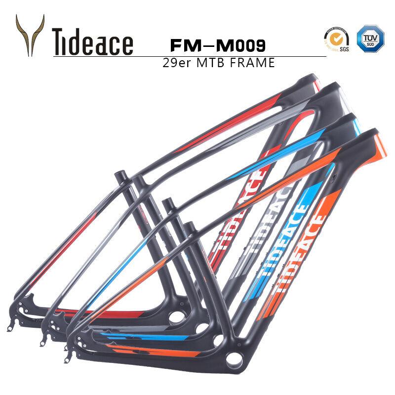 Aero súper ligero de fibra de carbono bicicleta de montaña bicicleta de montaña de carbono marcos 29ER tideace Marco