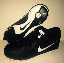 black baseball shoes nike metal baseball size 6