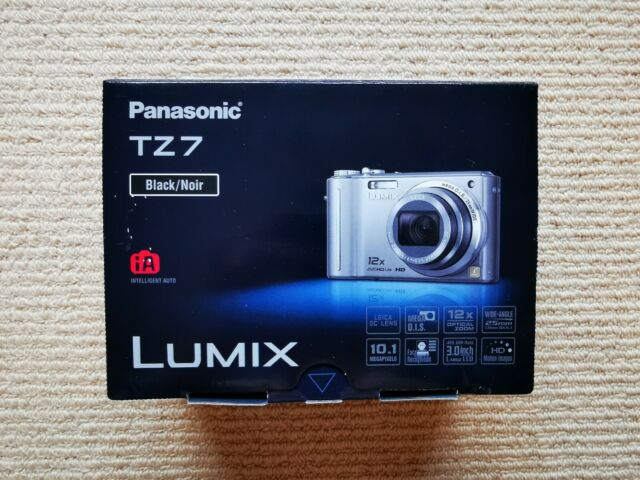 Panasonic LUMIX DMC-ZS3 (TZ7) 10.1 MP Digital Camera - Black