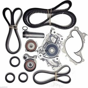 Toyota Camry V6 1994 2001 Timing Belt Kit Aisin Water Pump Tensionsers Seals Ebay