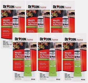 Glues, Epoxies & Cements Devcon 18245 Home Weldit All Purpose Adhesive 1 Oz High Strength Adhesive Liquid Glues & Cements