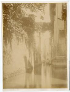 Italie-Venise-Venezia-Canale-Albrizzi-vintage-albumen-print-Tirage-album