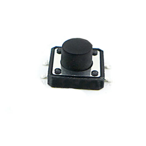 12x12mm SPST SMD Mount Small Mini Micro Momentary Tactile Push Button Switch PCB