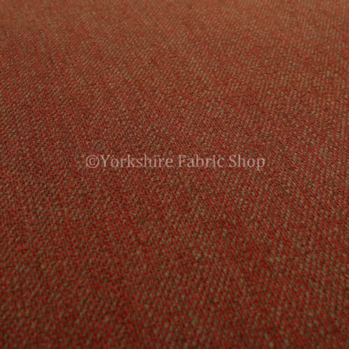New Durable Quality Woven Chenille Upholstery Fabrics In Fade Red Brown Colour