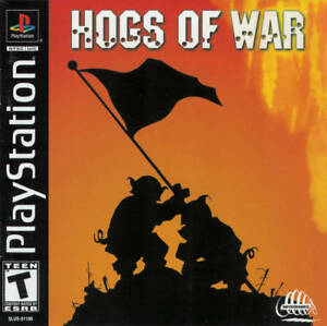 Hogs-Of-War-PS1-Great-Condition-Fast-Shipping