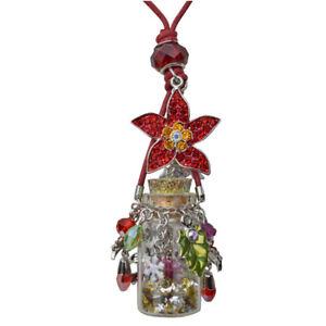Kirks-Folly-Poinsettia-Christmas-Star-Bottle-Necklace-silvertone