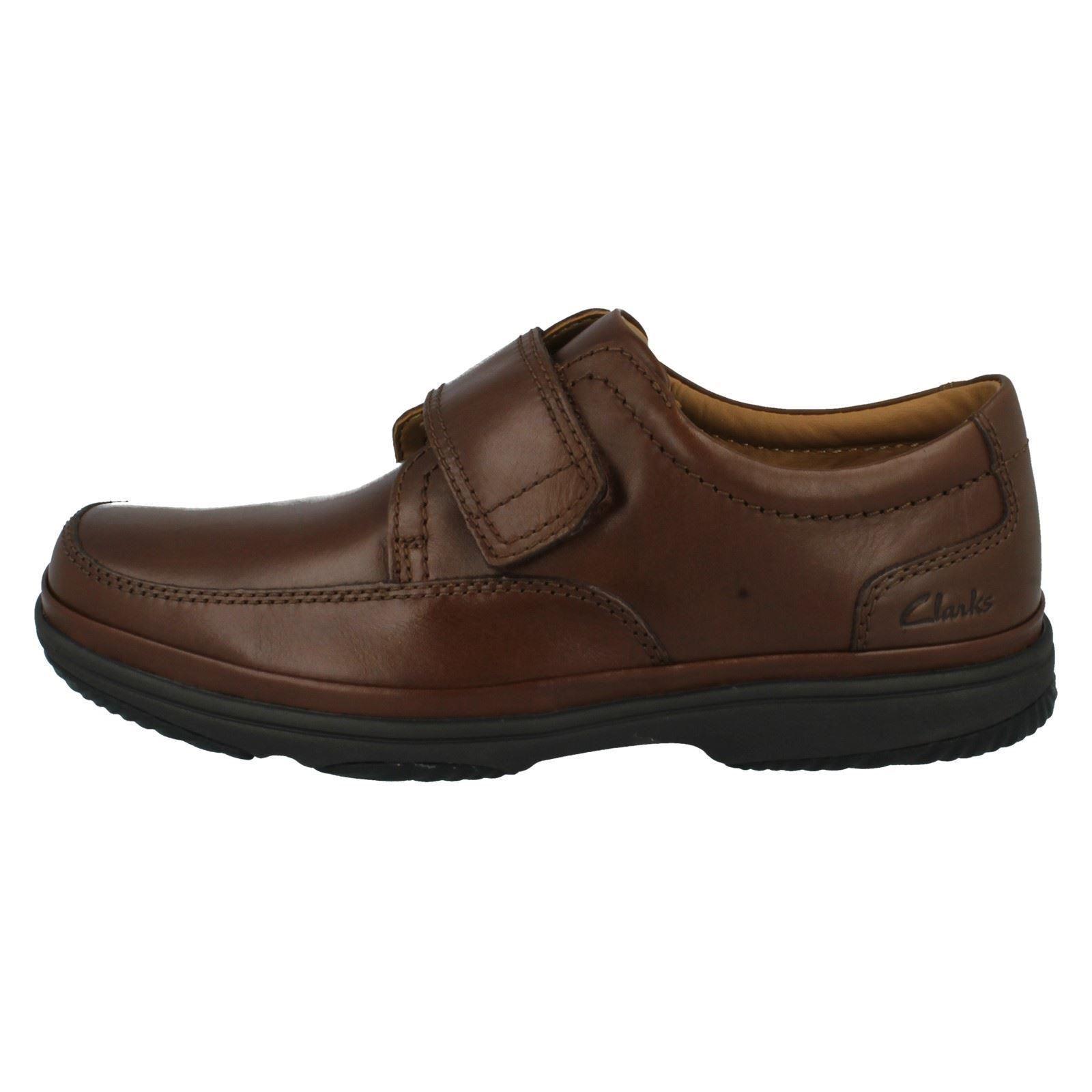 Clarks Hombre Zapatos de piel piel piel marrón ' Turn Swift ' 40ba95