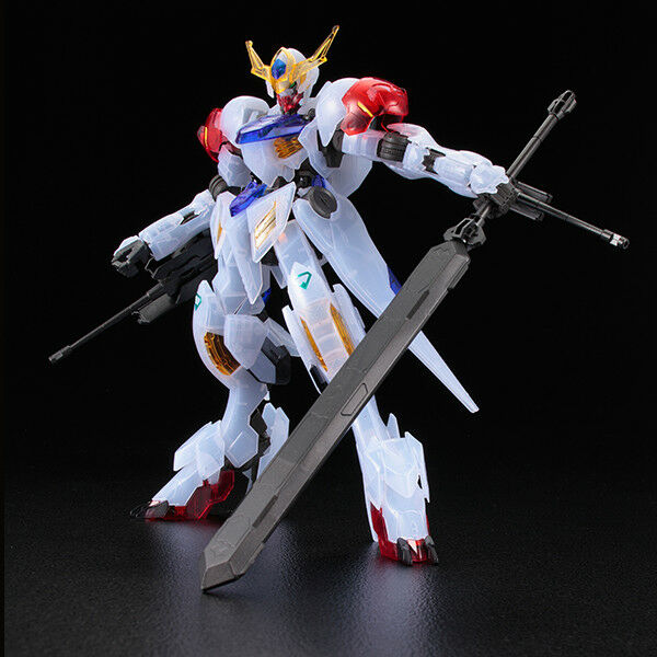BANDAI MODEL KIT IRON BLOODED ORPHANS BARBATOS LUPUS CLEAR COLOR 1/100