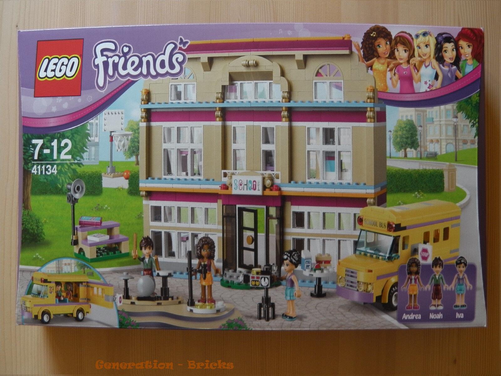 LEGO® Friends™(41134) Heartlake Heartlake Heartlake Kunstschule  inkl Versand NEU & OVP c69533