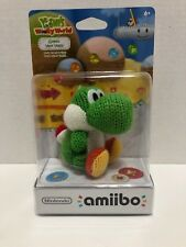 Nintendo Amiibo Yoshis Woolly World Green Yarn Yoshi Character Wii U 3ds