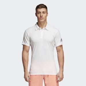 Climachill Nwt About Details Adidas Tennis Cd3200 Xl Men`s Size Polo White Lq34jA5R