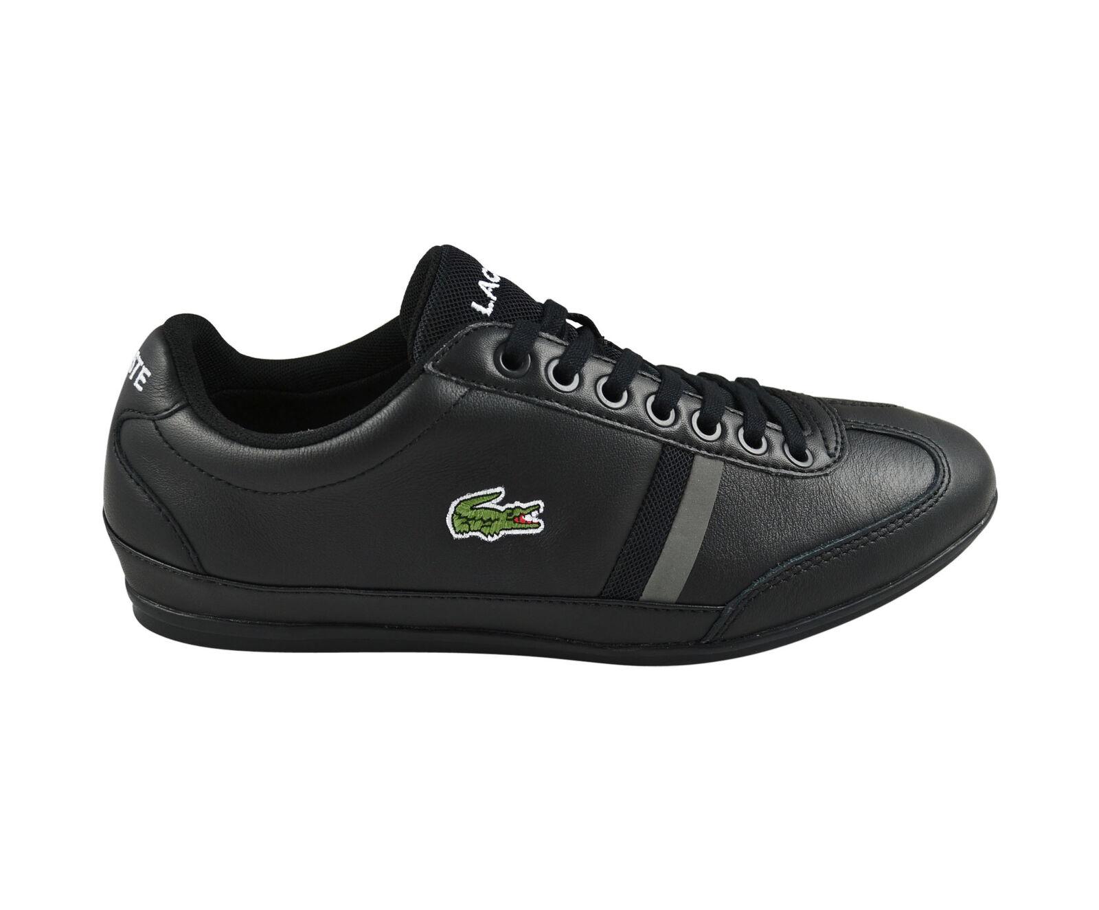 Lacoste Misano Sport 116 1 SPM black Schuhe/Sneaker - schwarz