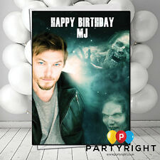LARGE /'THE WALKING DEAD/' DARYL 4 Personalised Birthday Card! ANY NAME,AGE!!