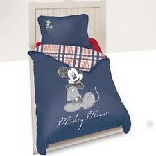 Bettwäsche set Disney Mickey Mouse 140 x 200 cm blau 100 % Cotton