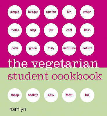 1 of 1 - The Vegetarian Student Cookbook (Hamlyn Cookery), Hamlyn, Acceptable Book