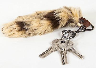 FäHig Fuchsschwanz Schlüsselanhänger Taschen Accessoires Anhänger Für Autoschlüssel