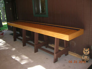 Image Is Loading Shuffleboard Table Plans Illustrated Econo To Make