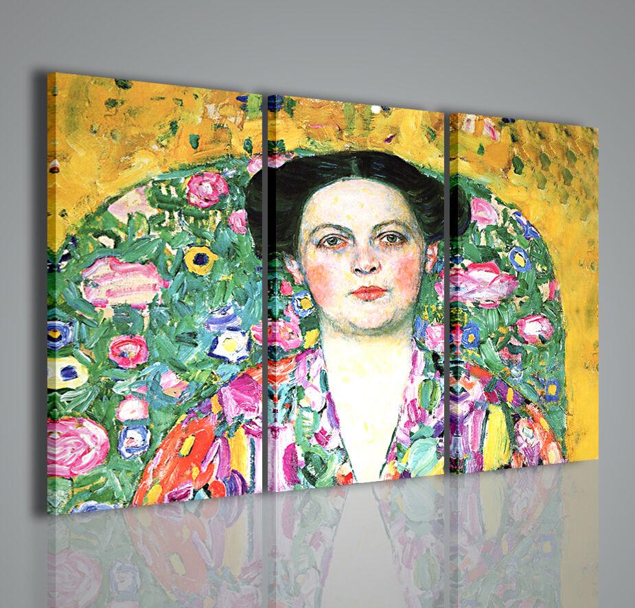 Gustav Klimt X Quadri Moderni per Arrotamento Stampe su Tela Pronte da appendere