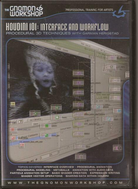 The Gnomon Workshop Houdini 101 Interface and Workflow