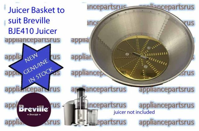 Breville Juicer Basket Only Part BJE410/26 for BJE410 NEW GENUINE IN STOCK BR6