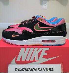Dettagli su Nike AIR MAX 1 se NYC CHINATOWN capodanno cinese CU6645 001 Uomo Taglie 10.5 12 mostra il titolo originale